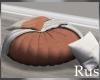 Rus Burke Round Pouf