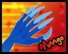 -DM- Blue Dragon Claws M