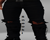 Ripped Black Jean