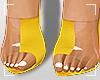 ṩMaria Heels Yellow