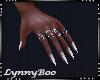 *Jinx White Nails
