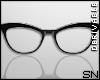 Black Glasses F