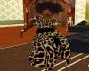 vintage leopard set