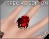 ~AK~ Royal Ring: Ruby
