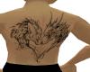 wolfxdragon tattoo