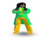 {LM}green /yellow tux