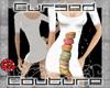 CG's macarons dress