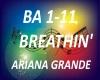 B.F  Breathin' Ariana G