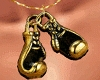 Boxing Gloves ~ Gold