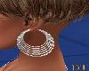 (dt)White Earrings