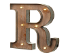 (AF) Sign Letter R