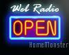Open Sign + Radio