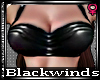 BW| Black PVC Top