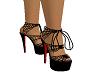 Black Web Heels