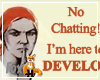 No Chatting Developer
