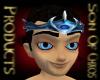 Blue dragon crown