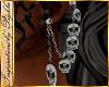 I~Diam.Skull Earrings