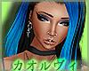 Lucif Hair- Blue&Black