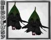 Gothic Flower Earrings 2