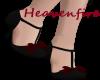^HF^Black N Red Vintage
