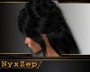 Black Mourning Hair