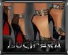 [L] Leopard Platf heels