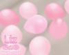 Baby Shower Pink Balloon