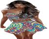bohemia party skirt set