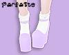♡ Lolita Wedge - Lilac