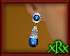 Vintage Blue Earrings S