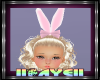 Kids Bunny Ears Pink