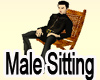 Male Sitting Funiture