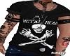 Camiseta  Metal Heat