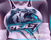 ! Beast Wolf Top T