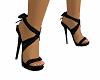 Black Bowtie Heels