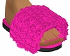 Fur Slippers Pink