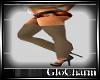 Glo* BrownKnitLeggings