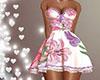 Dress flower pink rus