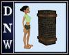 Brick Mailbox Column