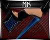 !Mk! Bat Mules Blue