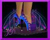 [JD]Blue/Purple Heels