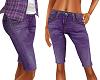 TF* Long Purple Shorts