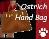 Ostrich Hand Bag