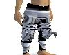 SILVER ARMOR PANTS