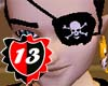 #13 Pirate Eyepatch M