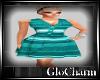 Glo*VintageSunDress~Teal