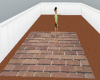 brick patio tile