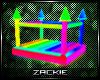 rainbow bouncy castle