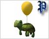 Turtle Balloon - Yellow