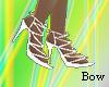[B] Stylish white shoes